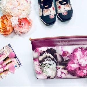 Ted Baker 'Ethereal Poise' Floral Wash Make-Up Bag